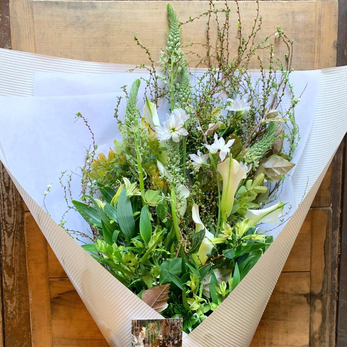 植生的な花束(¥10000)